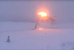 VIDEO: Russian Tu-22M3 bomber splits in two during landing