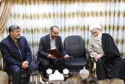 قائم مقام زکات کشور از امام جمعه کرمانشاه تقدیر کرد