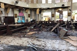 VIDEO: Twin bombs target church in Philippines