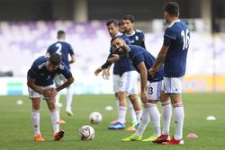 آخرین تمرین تیم ملی فوتبال پیش از دیدار با ژاپن