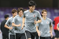 Japan's national team preparing to face Iran in AFC semi final