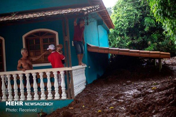 شکستن سد در برزیل