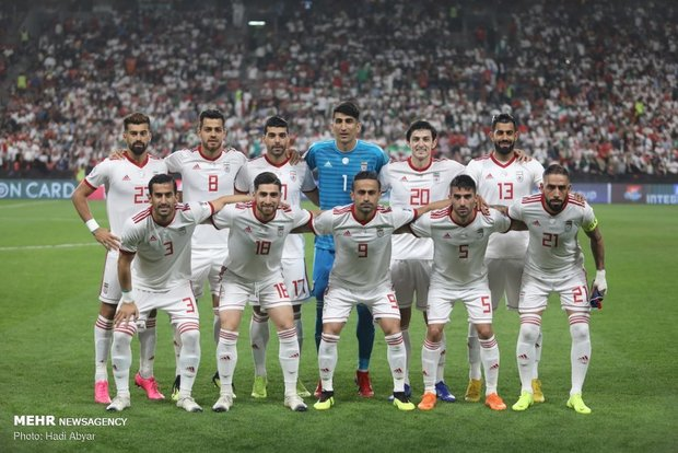 Iran remains Asia's best team in latest FIFA ranking