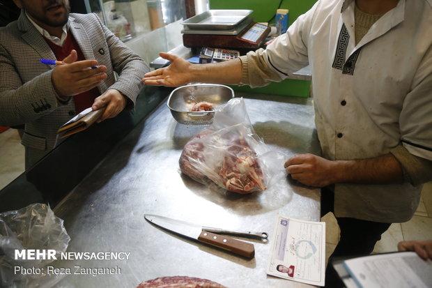 جریمه ۸۰۰ میلیون ریالی عامل توزیع گوشت در همدان