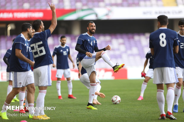 Iran, Japan's joint press conference before tomorrow's match