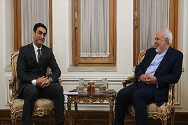 Bilateral relations with Turkmenistan highly regarded by Iran: Zarif