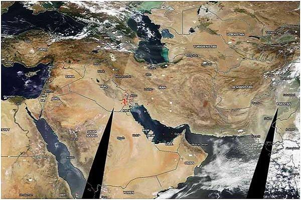 """ازدياد مساحة أنهر """"هامون"""" في محافظة سيستان وبلوشستان"""