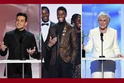 برگزیدگان جوایز انجمن بازیگران آمریکا ۲۰۱۹/ بردلی کوپر ناکام ماند