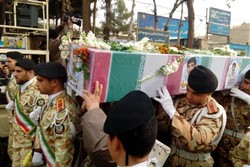 پیکر شهید جودانه در شاهرود تشییع شد/ تداوم راه انقلاب با یاد شهدا