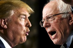 Barnie Sanders - Donald Trump