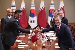 توافقات میان امیر قطر و رئیسجمهوری کرهجنوبی