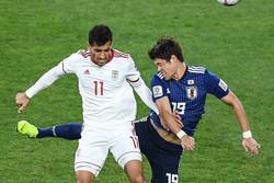 وحید امیری - تیم ملی فوتبال ایران و ژاپن