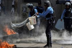 VIDEO: Protesters set fire to US embassy in Honduras