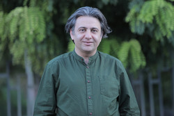 Iranian songwriter Afshin Yadoallhi in an undated photo.