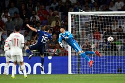 المنتخب الياباني يحجز بطاقة التأهل إلى المباراة النهائية بعد فوزه على إيران
