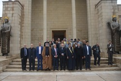 Iran amb. to Baghdad meets with Iraqi scholars, journalists, tribal leaders