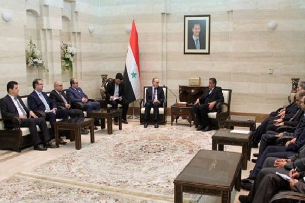 Iran, Syria to enhance economic, investment coop.