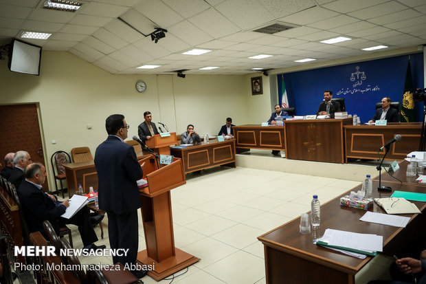 سومین جلسه محاکمه سه متهم پرونده بانک سرمایه