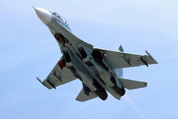 جنگنده روس هواپیمای جاسوسی انگلیس را رهگیری کرد