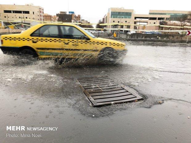 Rainfall in Tabriz