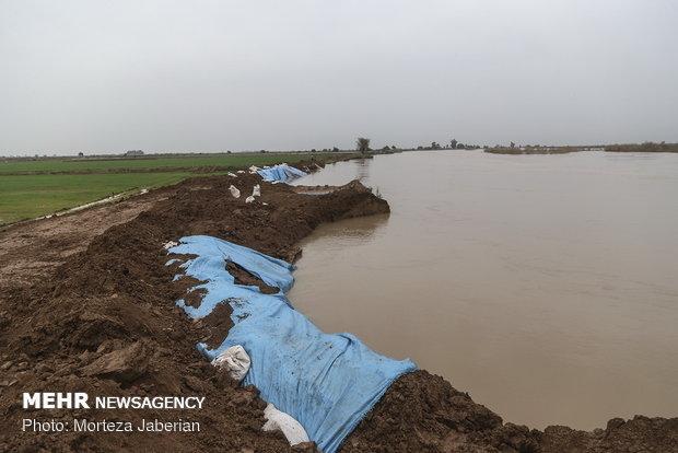وضعیت روستاهای حاشیه دز بخش مرکزی تحت کنترل است