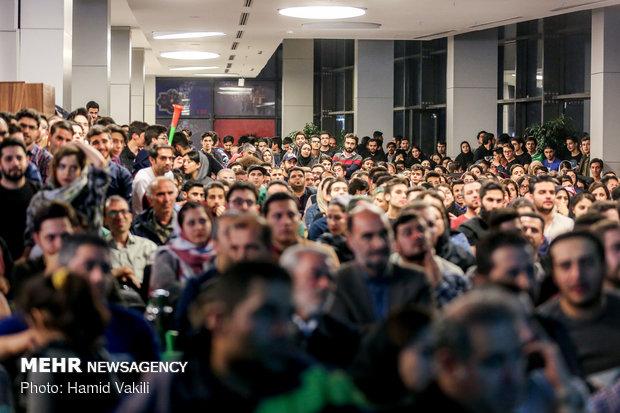 Tehraners watch Iran's semifinal match vs Japan