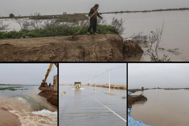 برخی روستاهای خوزستان تخلیه شدند/ سیلاب اصلی در راه است