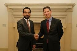 رئیس پارلمان عراق پاسخ مقام انگلیسی درباره رابطه با ایران را داد
