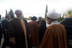 هیأت ایرانی برای حضور در چهاردهمین همایش علمای سوریه وارد دمشق شد