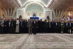 تجدید میثاق مدیران البرزی با آرمانهای امام خمینی (ره)