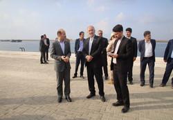سفیر جمهوری اسلامی ایران در پاکستان از بندر چابهار بازدید کرد