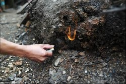 کارگاه غیرمجاز استحصال طلا از خاک کشف شد