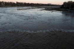 ۱۶ میلیون متر مکعب به حجم سد زاینده رود در ۲۴ ساعت گذشته اضافه شد