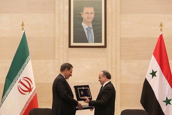 İran ile Suriye arasında büyük anlaşma