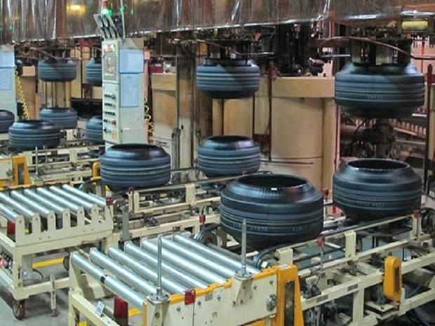 خط تولید تایر سبز در کارخانه لاستیک کردستان به بهره برداری رسید