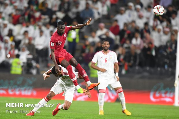 Qatar vs UAE in semifinals of 2019 Asian Cup