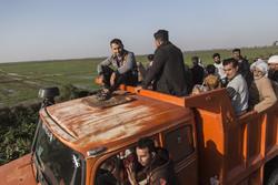 برخی اهالی ۳۵ روستا و یک شهر در خوزستان به علت سیلاب تخلیه شدند
