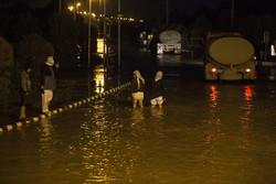 Severe flood hits SW Iran