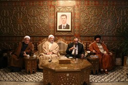 حضور آیت الله اراکی در گردهمایی پانصد عالم جهان اسلام