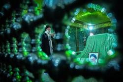 حضور رهبر انقلاب اسلامی در مرقد امام خمینی(ره) وگلزار شهدا