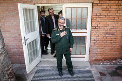 رئیس سازمان بسیج مستضعفین برای سومین بار وارد گلستان شد