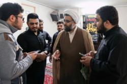 دیدار مدیر حوزه علمیه تهران با طلاب مدرسه علمیه حجت