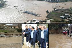 خسارت جدی سیلاب به ۲ شهر/ ۶۸ روستا آسیب دید/ قطع راههای دسترسی