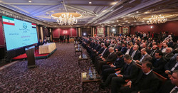 An Iran-Syria business forum was held in Damascus on Tuesday attended by senior officials and businessmen from both sides.