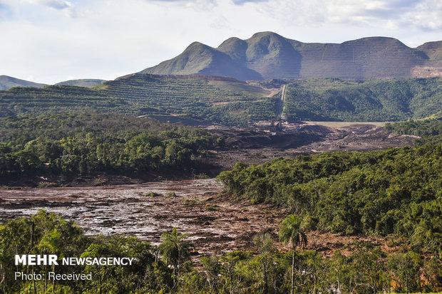 تلفات شکستن سد در برزیل