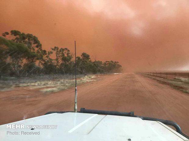 موج گرما در استرالیا