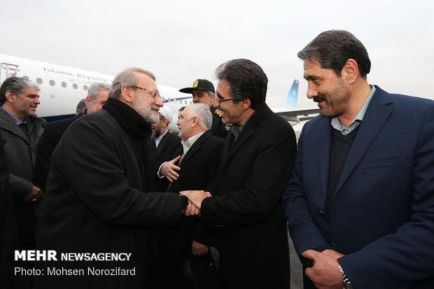 سفر علی لاریجانی رئیس مجلس شورای اسلامی به تبریز