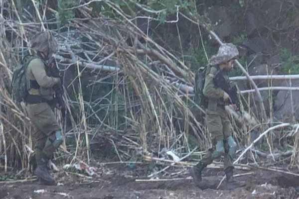 تحرکات نظامیان اسرائیلی در شرق رود الوزانی/ آماده باش ارتش لبنان