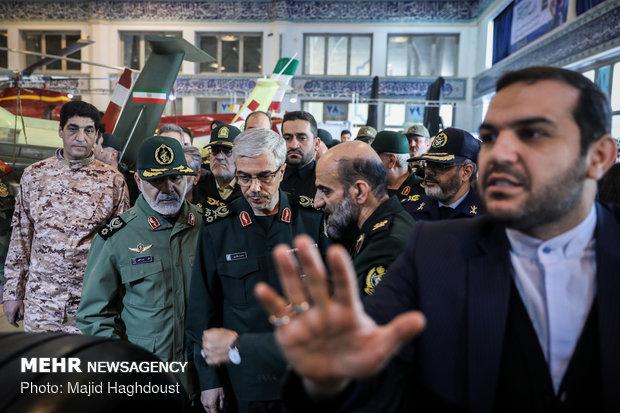 """معرض """"اقتدار 40"""" بالعاصمة طهران"""