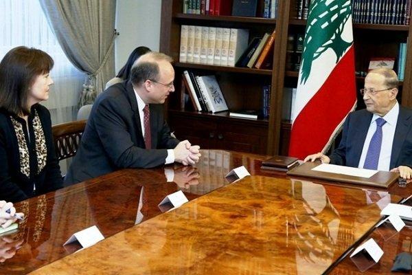"""ABD'li yetkililerden Lübnan'a """"Hizbullah"""" görüşmesi"""